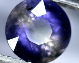 IOLITE NATURAL FACETED  1.20  CTS   RNG-73