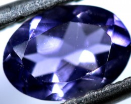TANZANITE FACETED VIOLET BLUE  0.55  CTS RNG-86