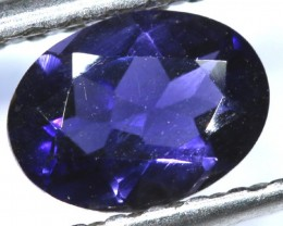 TANZANITE FACETED VIOLET BLUE 0.60   CTS RNG-90