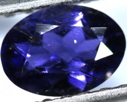 TANZANITE FACETED VIOLET BLUE  0.55  CTS RNG-89