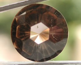 6.50ct WONDERFUL FACETED BRAZILIAN SMOKEY QUARTZ GEM CUT IN THE U.S (MJ52)