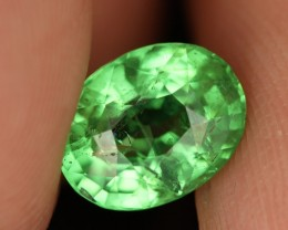 CERTIFIED 2.66 CTS  TSAVORITE-RADIANT GREEN [GNG26](11041807)