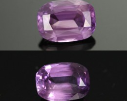 3.34 CTS CERTIFIED SAPPHIRE  COLOUR CHANGE [CDCC48]