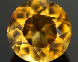 7.35 CTS CERTIFIED ORANGE CITRINE - STUNNING - [QCT62]