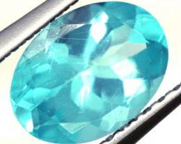 BLUE ZIRCON FACETED STONE 1 CTS  PG-1072