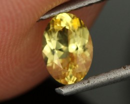 0.58 CTS STUNNING YELLOW DANBURITE [DAN3]