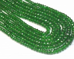 "SALE 2mm - 4mm 16"" Tsavorite Garnet AAA green gemstone beads from Keny"