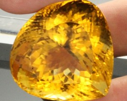 162.45 CTS HUGE  CERTIFIED ORANGE CITRINE - [QCT60]