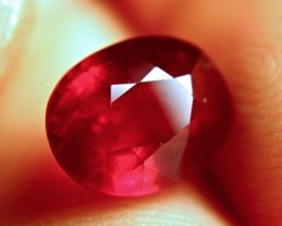 5.46 Carat VS Pigeon Blood Ruby - Superior