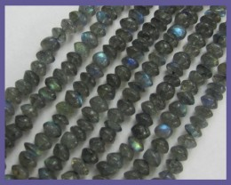 A+ QUALITY 3.50-5.00MM LABRADORITE PLAIN BUTTON BEADS!!
