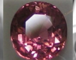 CERTIFIED Untreated Unheated Pink Sapphire - 1.40cts - Gorgeous Mogok Gem