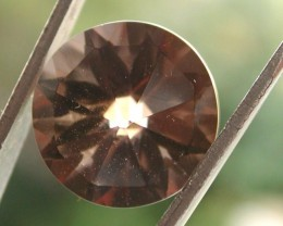 6.40ct WONDERFUL BRAZILIAN FACETED SMOKEY QUARTZ GEM CUT IN THE U.S (MJ74)