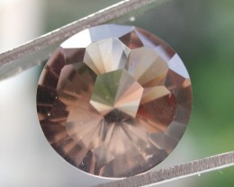 6.25ct WONDERFUL BRAZILIAN FACETED SMOKEY QUARTZ GEM CUT IN THE U.S (MJ78)