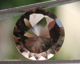 7.30ct WONDERFUL BRAZILIAN FACETED SMOKEY QUARTZ GEM CUT IN THE U.S (MJ79)