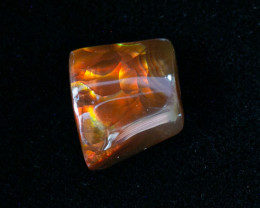 5.9ct Polished Mexican Fire Agate (MA99)