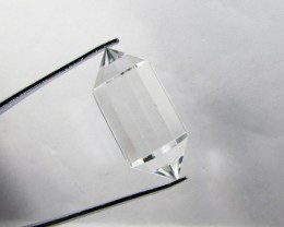 40cts Quartz Crystal Double Pointed Faceted Z2266