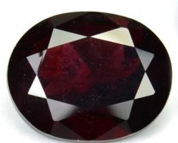 3.08 Cts Natural Red Rhodolite Garnet Africa - GEMEX