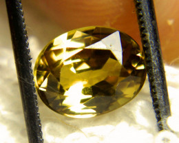 5.0 Carat VVS1 Southeast Asian Golden Yellow Zircon