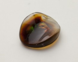 6.6ct Polished Mexican Fire Agate (MA106)