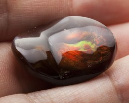 28.1ct Polished Mexican Fire Agate (MA109)