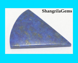 41mm Lapis lazuli cabochon triangle shape Supreme quality AAA.