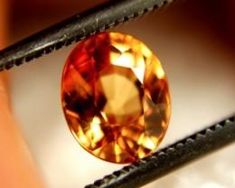 1.29 Carat VVS Orange Sapphire - Gorgeous