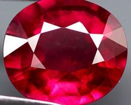 2.70 Carat VVS/VS Fiery Ruby - Beautiful