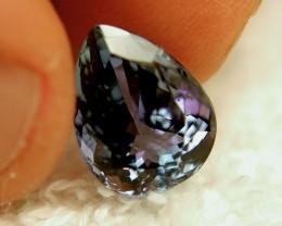 CERTIFIED - 6.42 Carat VVS1 African Bluish Violet Tanzanite - Gorgeous