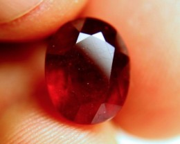 7.74 Carat Fiery Pigeon Blood Ruby - Gorgeous