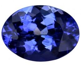 AMAZING LUSTER NATURAL RARE TANZANIA BLUE TANZANITE