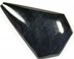 73.5 CTS TIGER EYE STONE DYED TO LOOK LIKE OBSIDIAN