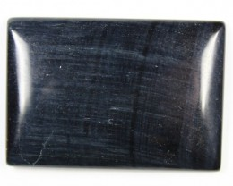 85.2 CTS TIGER EYE STONE DYED TO LOOK LIKE OBSIDIAN