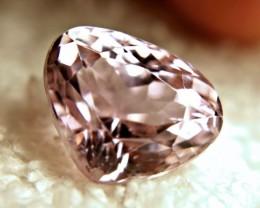 12.37 Carat VVS1 Himalayan Pink Kunzite - Lovely