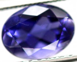 TANZANITE FACETED VIOLET BLUE  0.65 CTS RNG-94