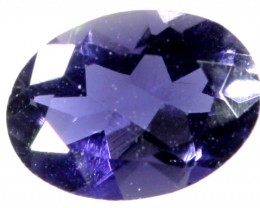 TANZANITE FACETED VIOLET BLUE 0.50 CTS RNG-96