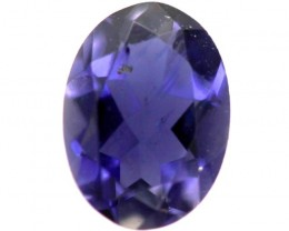 TANZANITE FACETED VIOLET BLUE 0.50CTS RNG-99