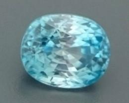 3.56ct Natural Light Blue ZIRCON Gemstone