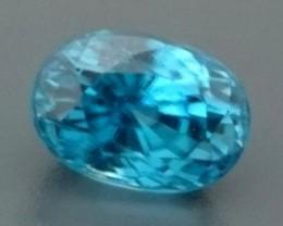 3.53ct Natural Blue ZIRCON Gemstone