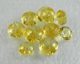 Natural Brazil Citrine Faceted Beads Z 2307
