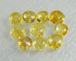 Natural Brazil Citrine Faceted Beads Z 2310