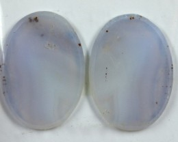 33.0 CTS JASPER PAIR POLISHED STONE GREAT RANGE IN STORE