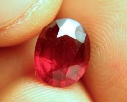 3.32 Carat VS/SI Pigeon Blood Ruby - Gorgeous