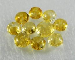 Natural Brazil Citrine Faceted Beads Z 2331