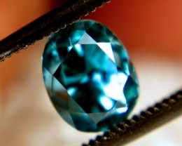 2.68 Carat VVS Blue Southeast Asian Zircon - Gorgeous