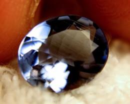 2.73 Carat Patterned Kashmir Blue Brazilian Beryl - Superb