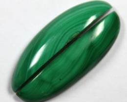 23.90  CTS CABOCHON HIGH DOME MALACHITE PAIRS