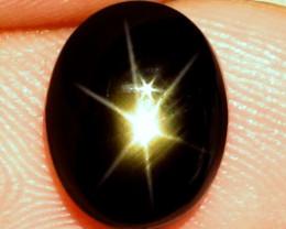6.43 Carat Thailand Black Star Sapphire