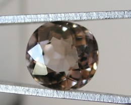 3.35ct FACETED SMOKY QUARTZ GEMSTONE FROM AFRICA