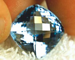 23.09 Carat Vibrant Blue Brazil Topaz - Superb