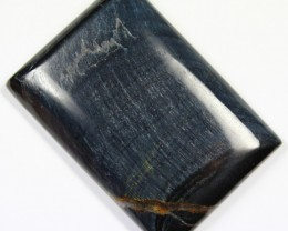 CTS TIGER EYE STONE DYED TO LOOK LIKE OBSIDIAN